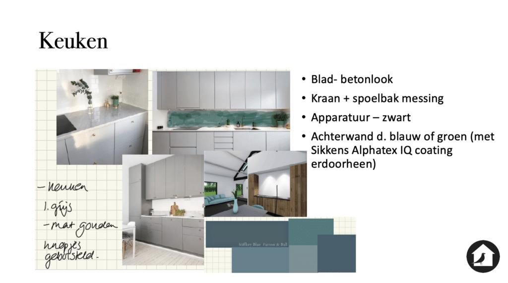 Kleur keuken grijs