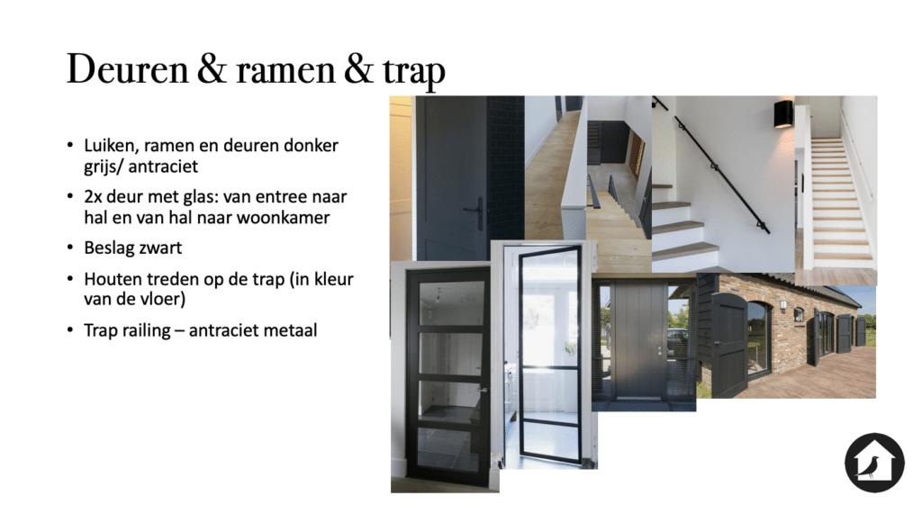 Interieuradvies deuren, ramen en trap