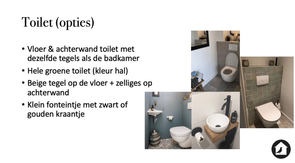 Toilet ideeen stalwoning