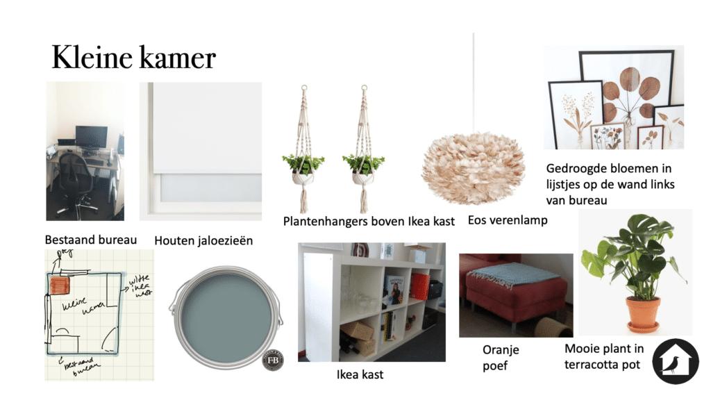 Ontwerp kleine kamer woonhuis Zwolle Le Living