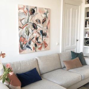 Kunst Le Living interieur Made by Sjors