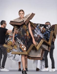 Mode en kunst Viktor en Rolf