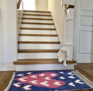 Vloerkleed The Weavery shop happy rug