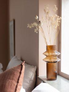 Hygge in huis droogbloemen