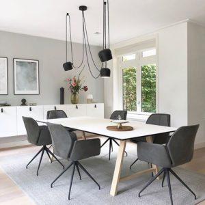 Aim hanglamp boven eettafel