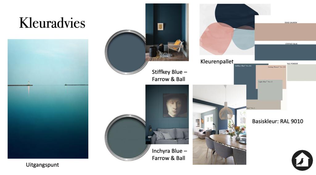 Kleuradvies/ kleurpallet huis Oog & Al