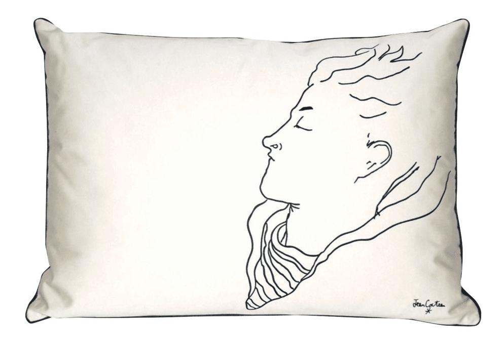 Kussen Jean Cocteau