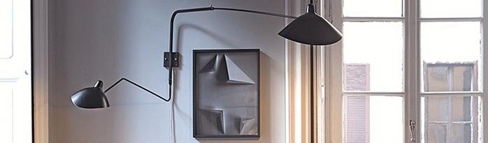Serge Mouille wandlamp