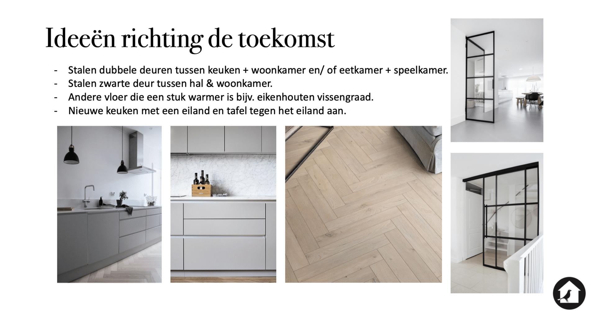 Ideeën lange termijn huis Vught