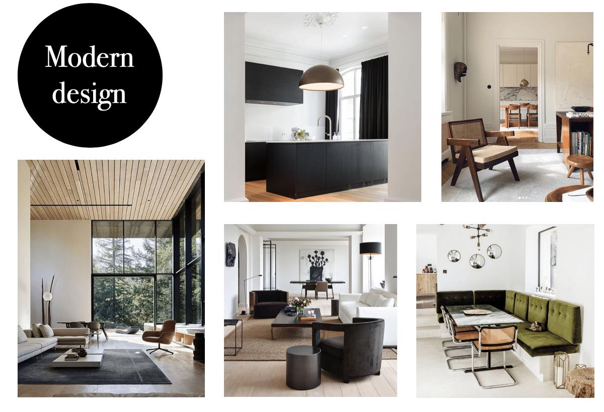 Interieurstijl modern design Le Living