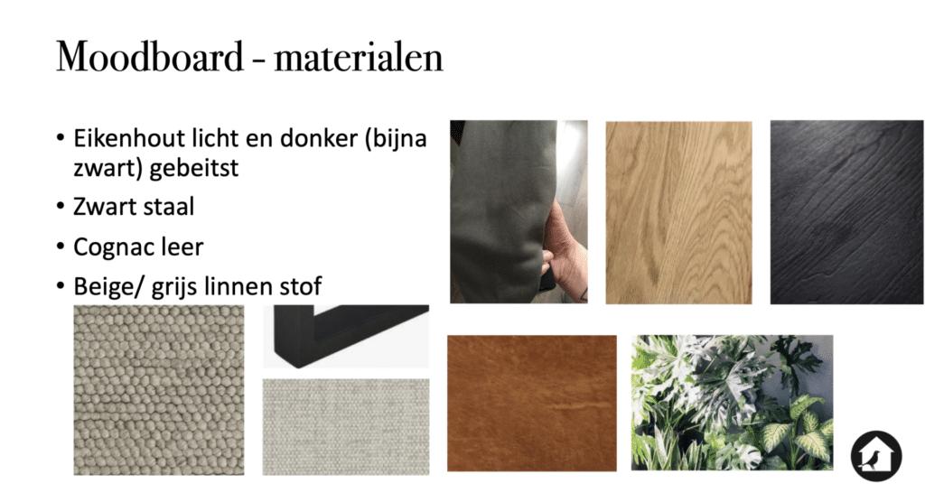 Appartement Huizen materialen