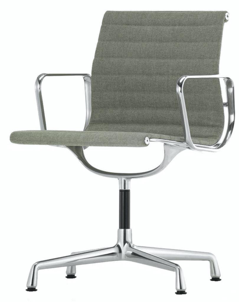 Vitra aluminium EA 104 chair