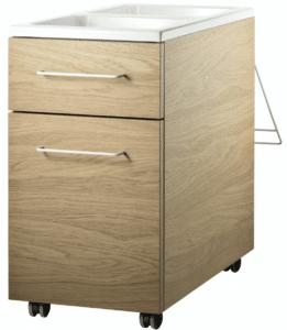 String furniture mobile storage unit