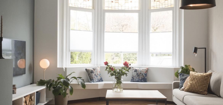 Woonkamer interieurontwerp jaren dertig huis Breukelen
