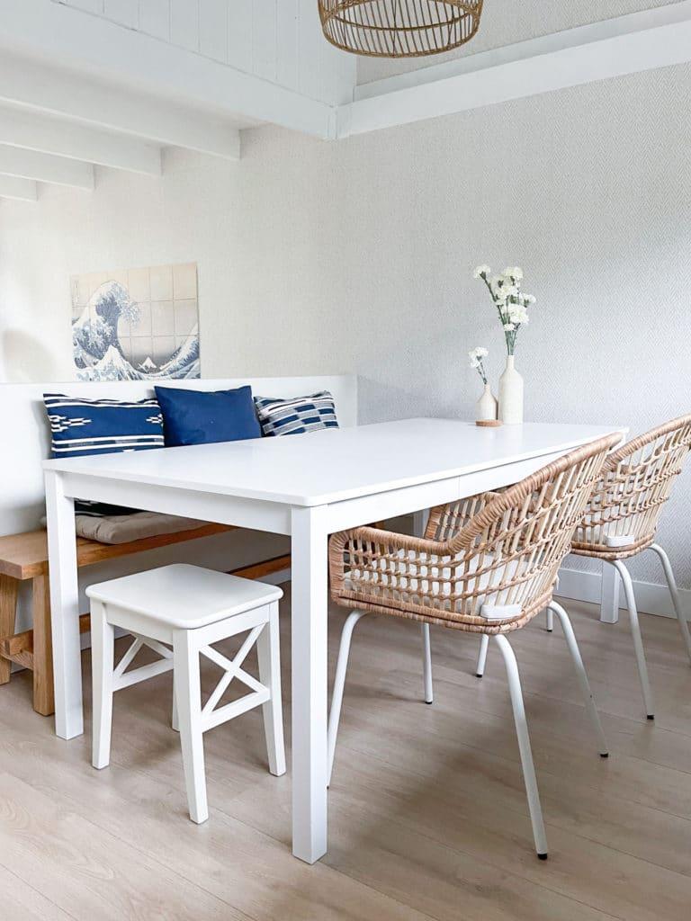 Eetkamer beach house Le Living DSH
