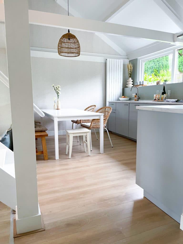 Eetkamer keuken beach house Le Living DSH