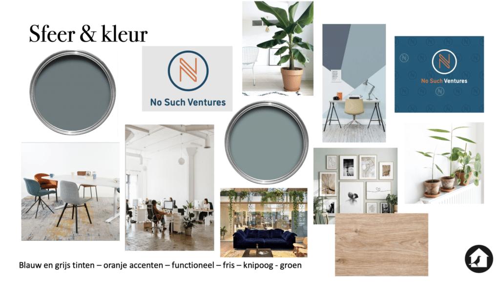 sfeer en kleur ontwerp kantoor