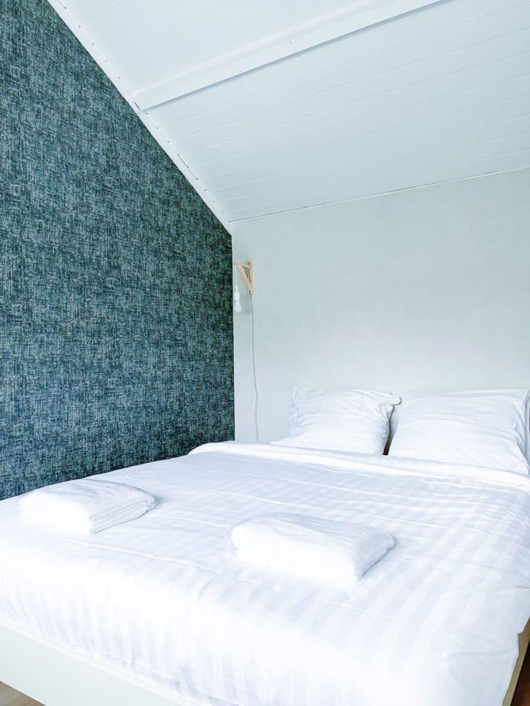 Beach house slaapkamer blauw Le Living