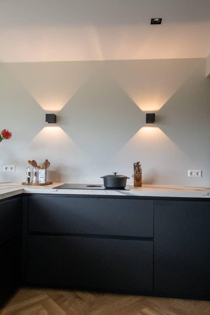 bora koken keuken zwart